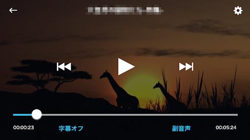 「レコーダーアクセス」再生画面