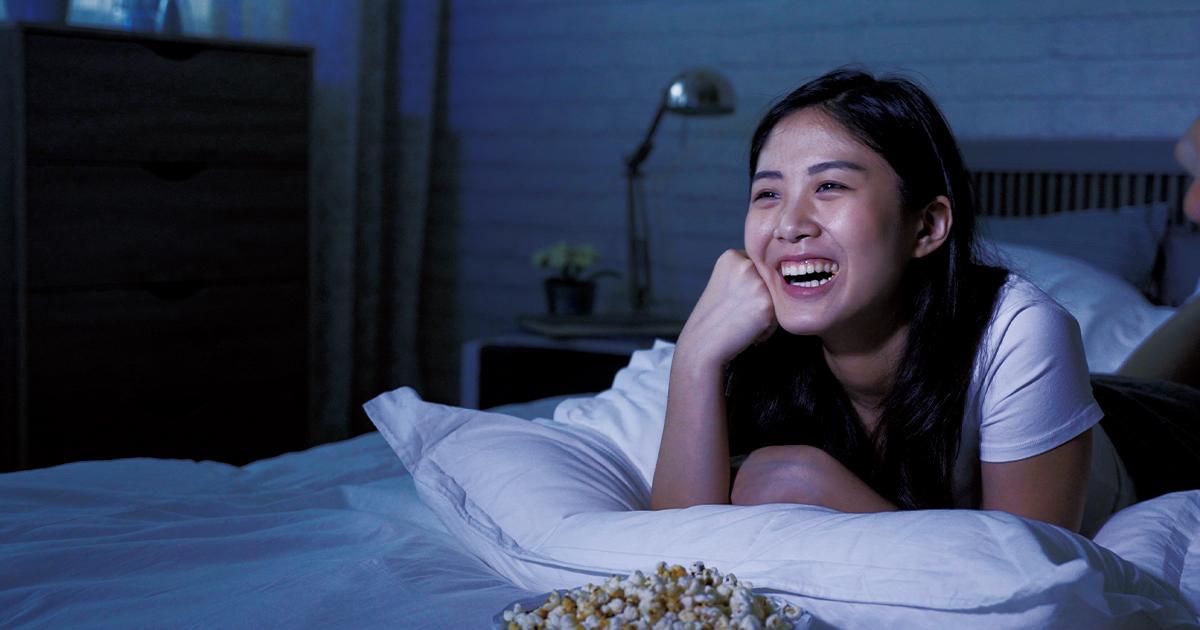 ユースケース① 寝室のサブテレビで楽しむ